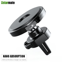 Nano адсорбционный автомобильный держатель, игровой Беспроводной коврик для быстрой зарядки для Samsung iPhone Xiaomi Мобильный телефон USB Автомобиль...