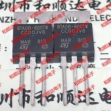 Original nuevo/5 uds/BTA08-600TW a-220 600V 8A