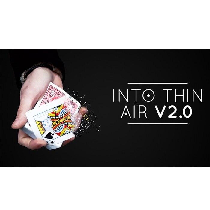 Into Thin Air 2.0 (DVD e Gimmick) pelo Sultão Orazaly Magician Cartões Cartão de Truques de Mágica Close up Magic Rua Ilusões Divertidas Bar