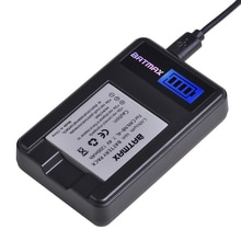 1X 1200mAHNB-4L NB4L Nb 4L Batterij + Lcd Usb Oplader Voor Canon Ixus 30 40 50 55 60 65 80 100 I20 Camera Batterijen