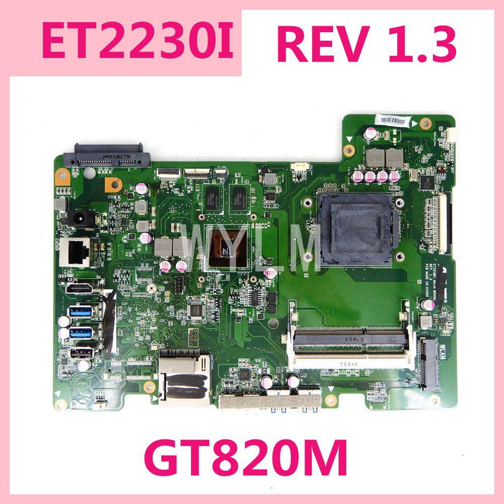 ET2230I GT820M اللوحة الرئيسية REV 1.3 الكل في واحد اللوحة الأم ASUS ET2230I ET2230 90PT0110-R03000