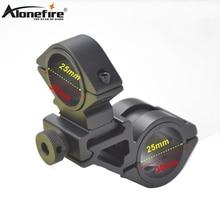 AloneFire T3008+M50 25-30mm Ring Sight bracket scope mounts Bike Bicycle Light Torch Flashlight Handle Bar Handlebar Clip holder