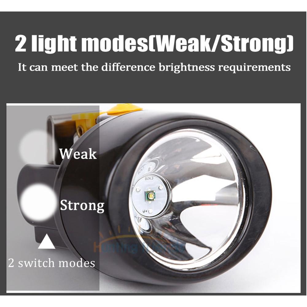 50pcs/lot Wireless LED Mining Light KL3.0LM Waterproof Mining Headlamp Explosion Rroof Mining Cap Lamp Rechargeable Headlight enlarge