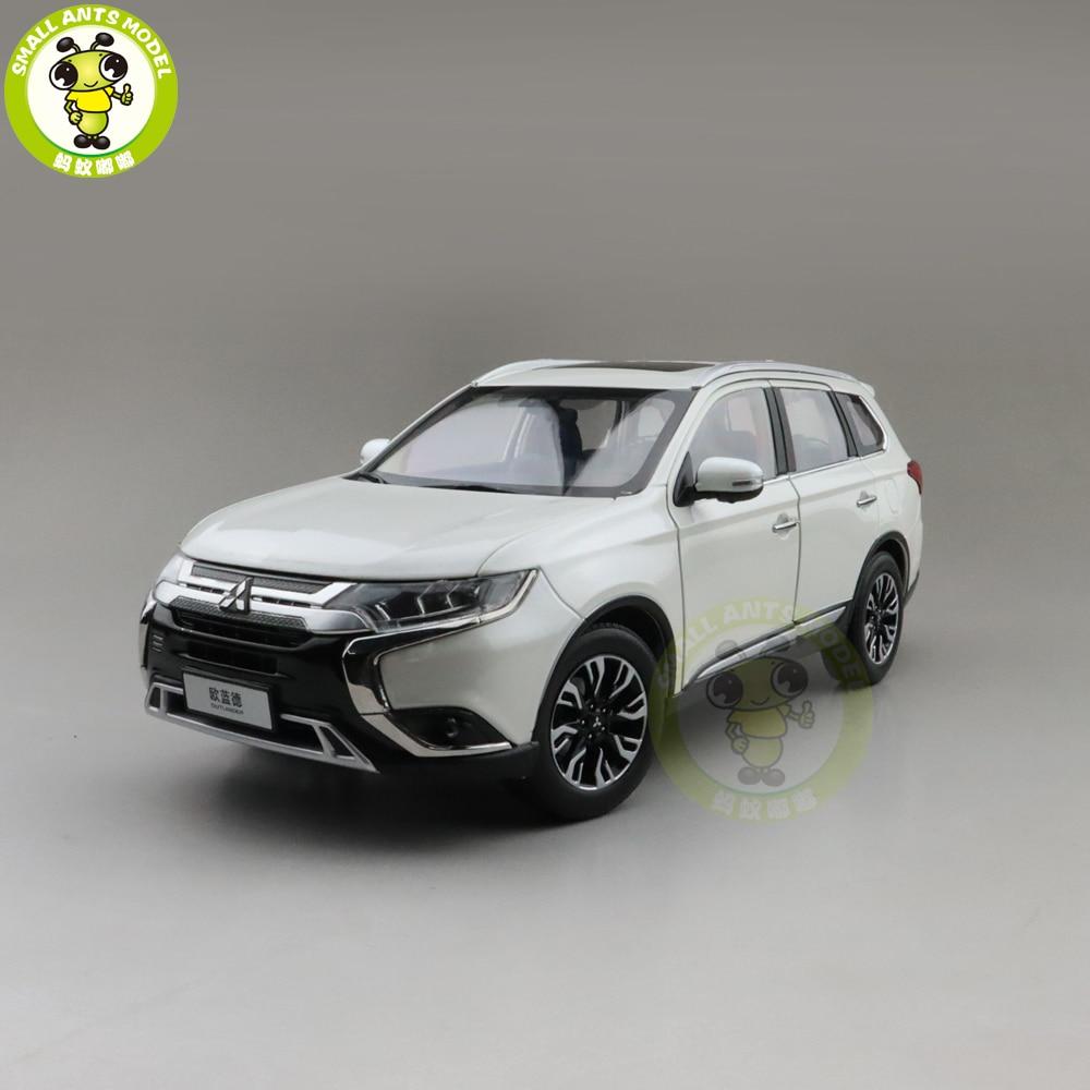 1/18 outlander suv 2019 diecast modelo de brinquedo carro meninos meninas presentes coleção