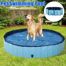 Dog Pool Foldable Dog Swimming Pool Pet Bath Swimming Tub Bathtub Pet Collapsible Bathing Pool for Dogs Cats Kids