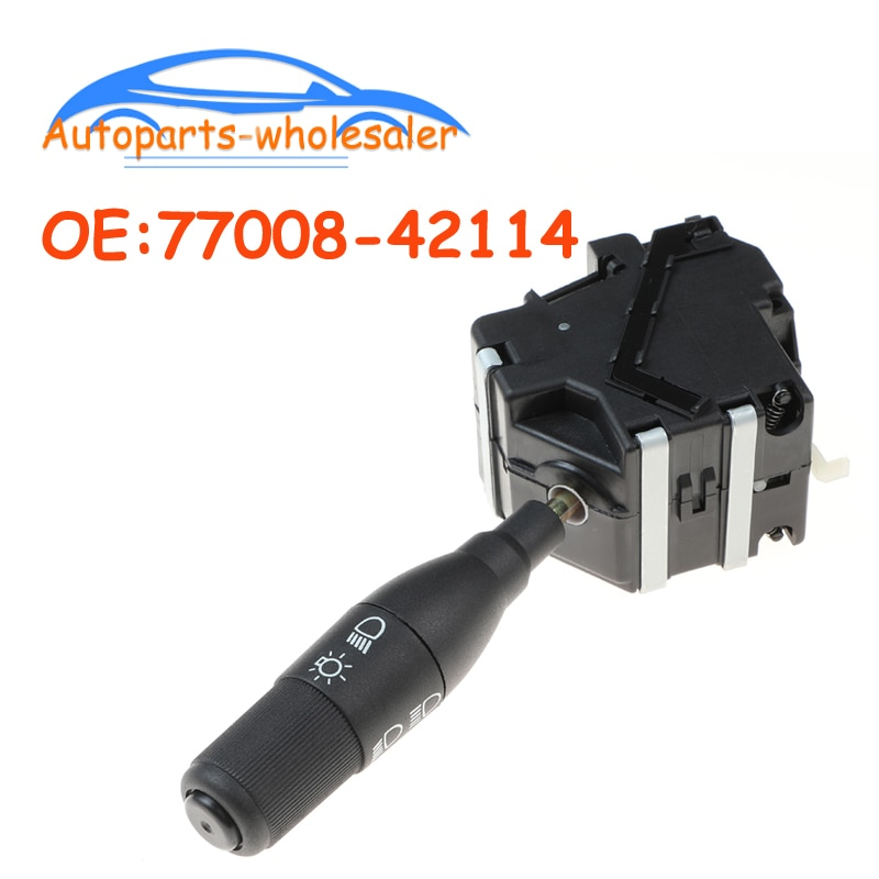 Coche 77008-42114 7700842114 para Renault Clio 19, interruptor de señal de giro Espace, columna de dirección, interruptor de tallo 7700803537 510034002001
