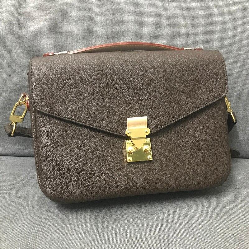 Top Qualität Luxus Marke Frauen Messager Tasche Neue Mode Frauen Handtasche Pochette Metis Tasche Design Schulter Tasche Frauen Schulter Tasche