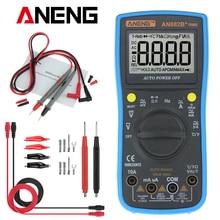 ANENG AN882B + TURE RMS Digital-Multimeter Auto NCV AC DC Auto LCR Volt Meter Tester Temprature Kontinuität Tester