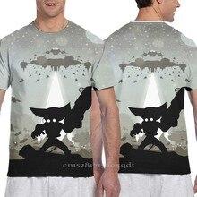 Ratchet and Clank - Showdown Men tshirt WOMEN all over print T-Shirt boy Short Sleeve tshirt girl Tops tee