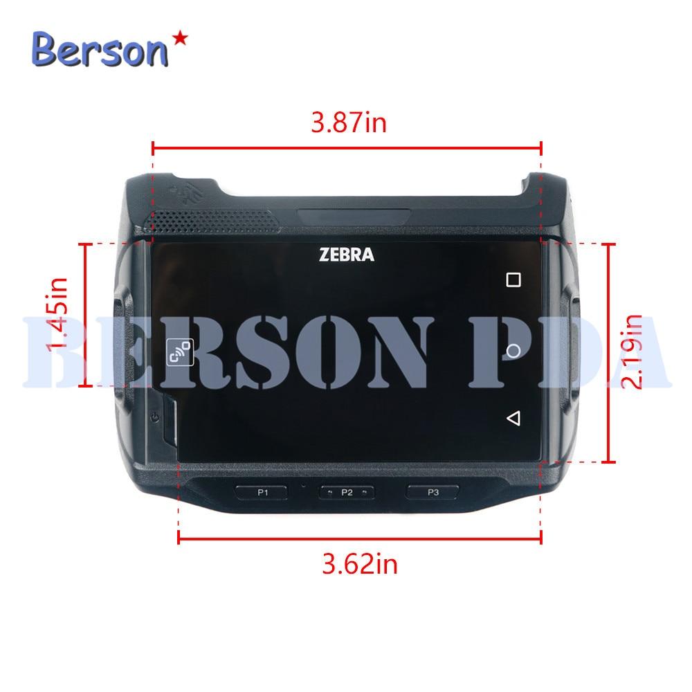 LCD y pantalla táctil con cubierta frontal para ZEBRA WT6000 WT60A0