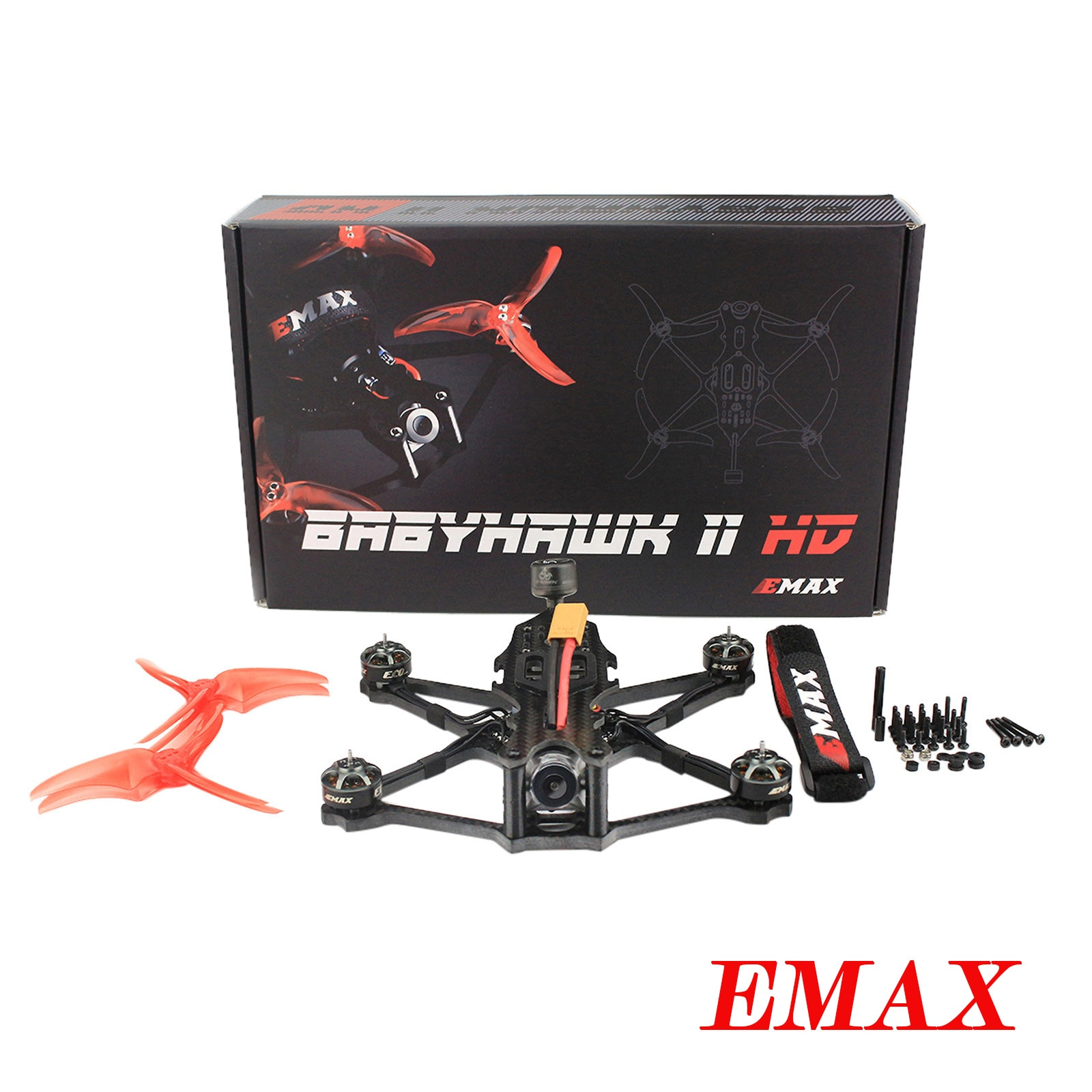 EMAX High-altitude Camera Remote Control Drone Babyhawk 2 Hd Tbs Receiver 155mm F4 4s Fpv Racing Drone Outdoor Flying Toy #K