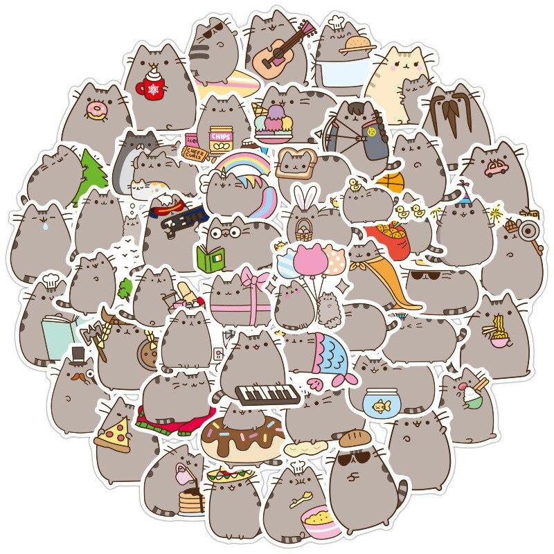 100-unids-pack-kawaii-grueso-gato-diario-impermeable-decorativo-papeleria-pegatinas-artesanales-scrapbooking-diy-album-diario