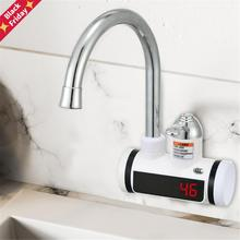 Electric Kitchen Water Heater Tap EU/US Plug Tankless Instantaneous Hot Water Heater Faucet For Kitc