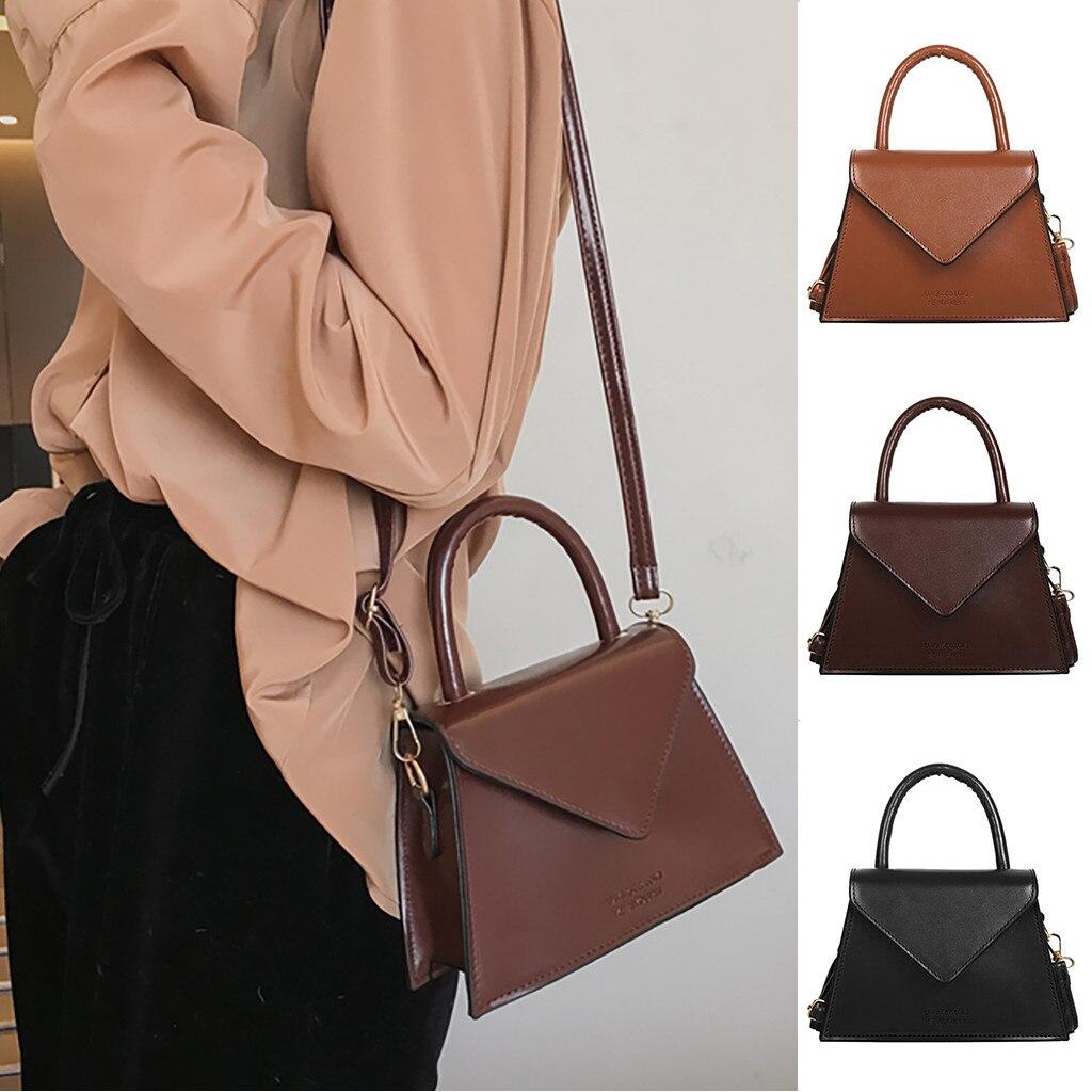 Bolso de hombro para mujer, bolso de mano, bandolera, informal, a la moda, tamaño 20H