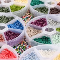 4800pcs 2mm charm czech glass seed beads box set crystal spacer glass beads for diy earring necklace jewelry making accessorie