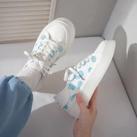 low top platform canvas women sneakers 2021 summer new retro lace up casual little white shoes outdoor breathable leisure