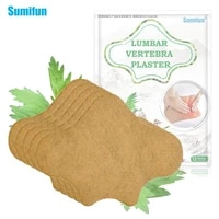 sumifun 12pcs wormwood back medical sticker arthritis patch pain relieving plaster lumbar spine pain relief patch