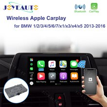 JoyeAuto inalámbrico Apple Carplay para BMW X1 X3 X4 X5 1 2 3 4 5 6 7 de la serie NBT 2013 - 2016 juego para Android Auto Player Box