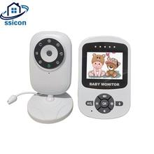 2.4 Inch Wireless LCD Audio Video Baby Monitor Radio Nanny Music Intercom 24h Portable Baby Camera Walkie Talkie Babysitter