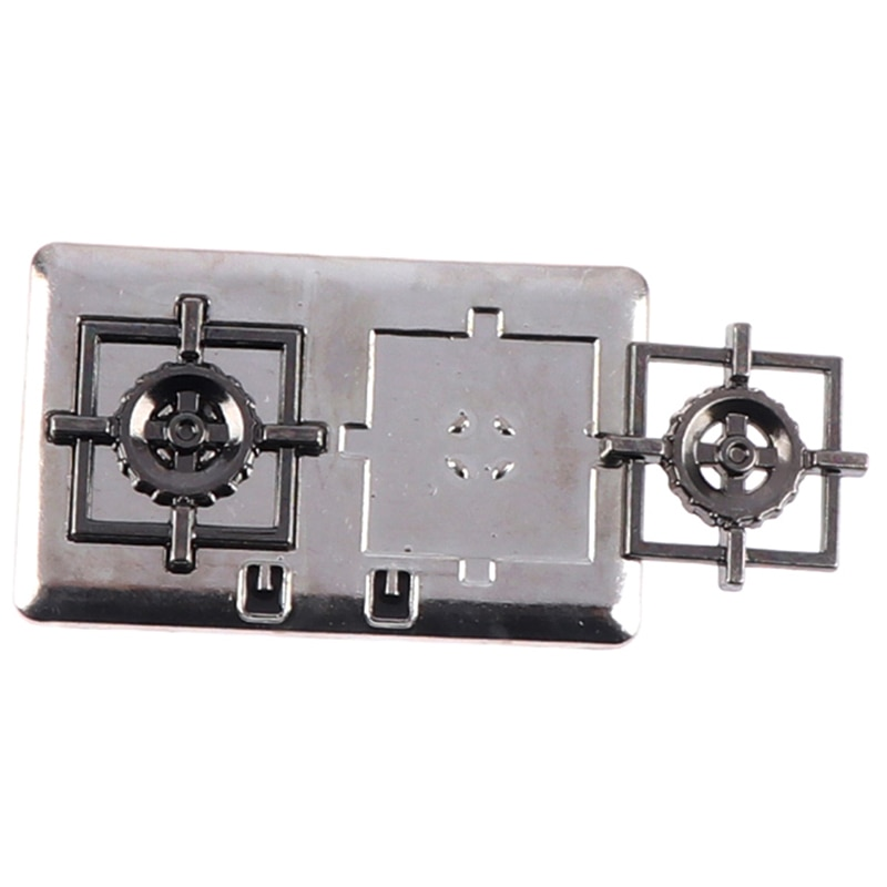 1pc gas 1pc Cute Mini Dollhouse Miniature Gas Stove For Doll House Accessories Suitable For Doll House Decoration