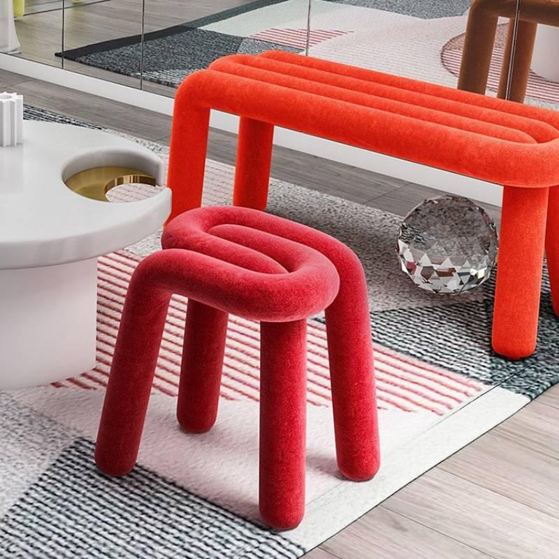 Детская мебель индивидуальный контрастный специальный стул детские креативные современные цветные стулья для одного человека
