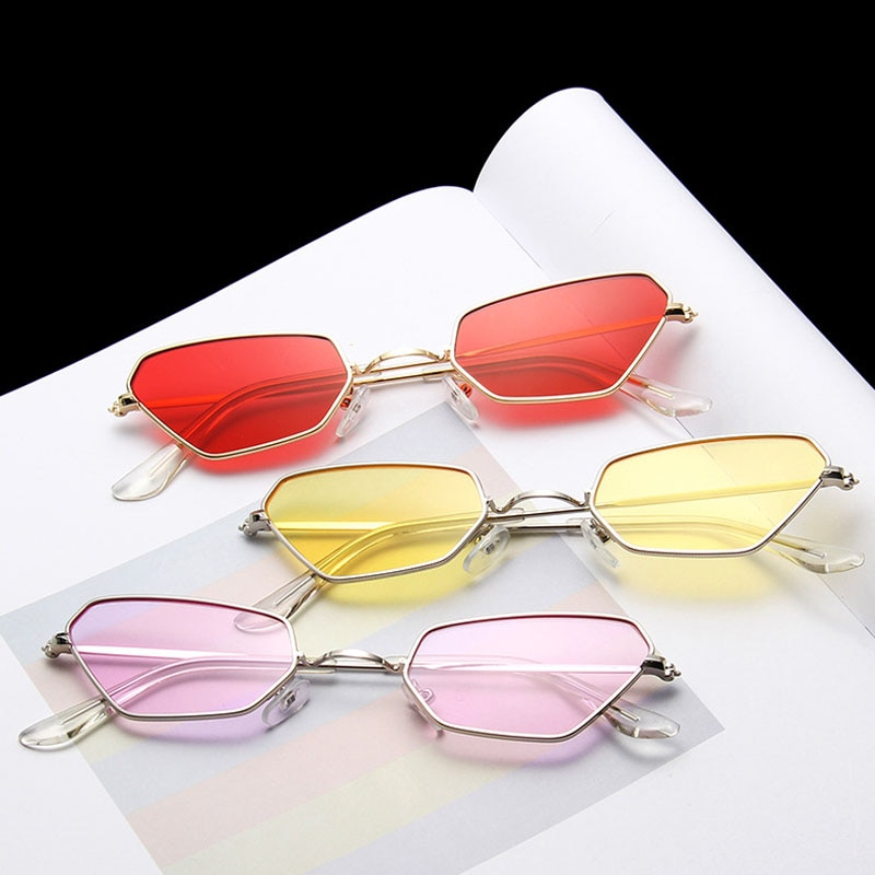 Women Sun Glasses Vintage Retro Gafas Trend Glasses Men Lunette Oculos de sol 2021 Punk Shades Fashi