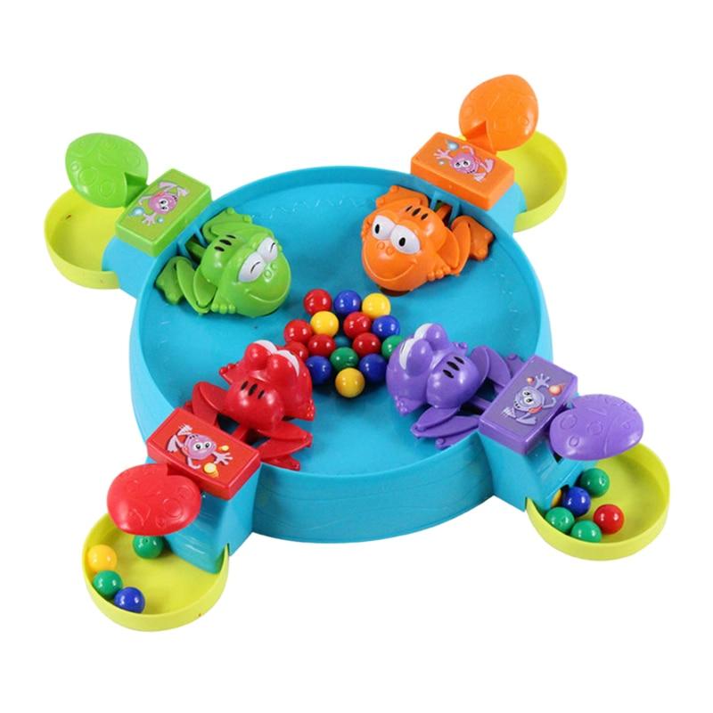 ¡TOP! Juguetes de interacción entre padres e hijos, juguetes educativos para niños, juguetes para alimentar a la rana Golondrina, juego de mesa, Rana hambriento