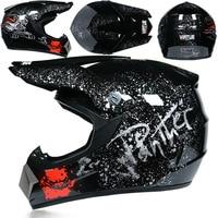 3 Gifts Racing Off-Road Full Face Motorcycle Helmet Dot Motocross Motorbike Dirt Bike Moto Casco Vintage