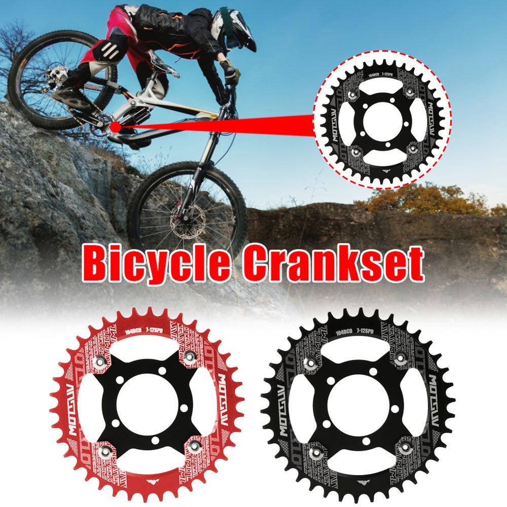 دراجة كرنك 104BCD دراجة سلسلة محول ل محرك بافانغ دراجة سلسلة 32T/34T/36T/38T متب دراجة دائرة كرانسيت لوحة