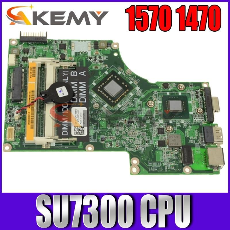 Akemy اللوحة الأم للكمبيوتر المحمول ديل انسبايرون 1570 1470 CN-069RRF اللوحة الرئيسية 069RRF SU7300 وحدة المعالجة المركزية على متن DDR3