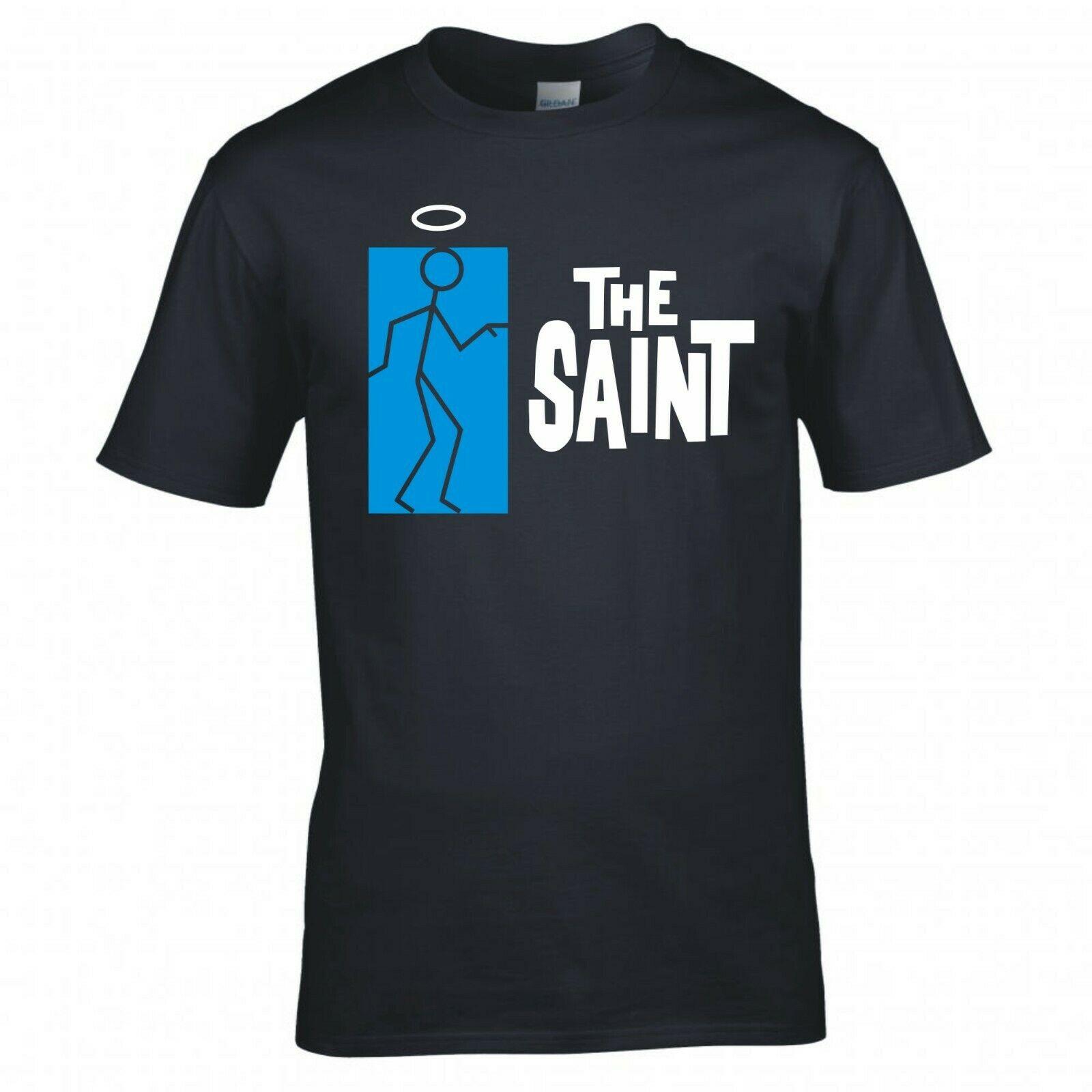 Inspirado na camisa do logotipo de saint stickman t
