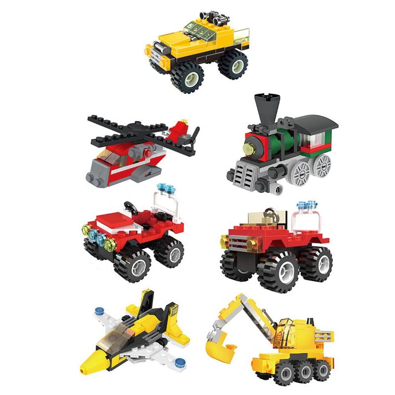 Детская Инженерная машина сборные строительные блоки детские игрушки головоломки мелких частиц блоки, кирпичные блоки, Детские Ранние обу...