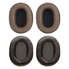 Peau de mouton Oreille Coussins pour Audio Audio-technica ATH MSR7 M50x M20 M40 M40x Doux et Durable Étui Pour Écouteurs