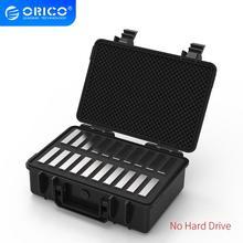 Orico 20-Bay 3.5 Inch Harde Schijf Bescherming Case Met Water-Proof Dust-Proof Shock-Proof hdd Opslag En Bescherming (PSC-L20)
