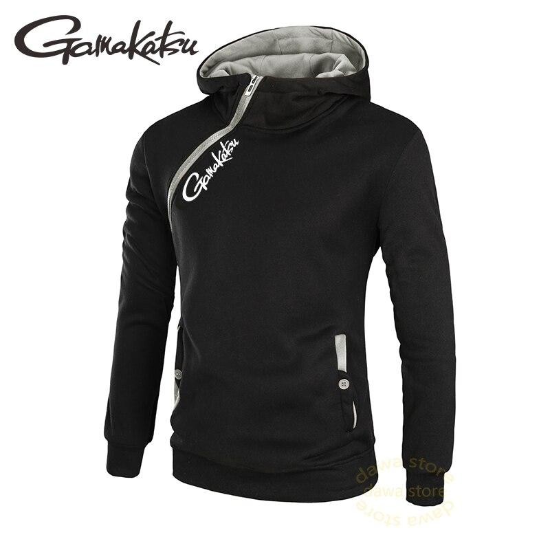 Ropa de pesca Gmakatsu, Sudadera con capucha para hombre, ropa de pesca transpirable, camiseta de pesca, ropa de pesca Casual, sudor