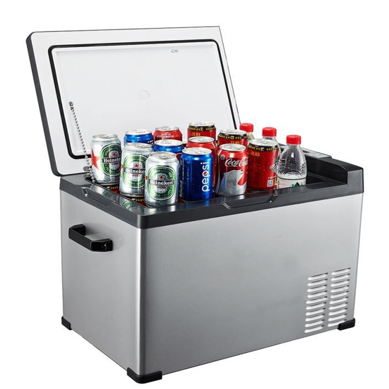 25/30/40/50/75L Car Auto-Refrigerator AC and DC 12/24V Portable Mini Fridge Compressor camping Refrigerator coolb