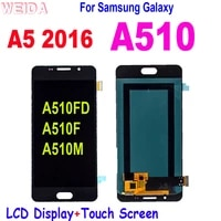 for samsung galaxy a5 2016 a510 a510fd a510f a510m lcd display touch screen digitizer assembly replacement for galaxy a510 lcd