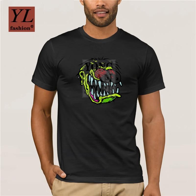 Diseños nueva moda hombres s camiseta rat fink monster hombres camiseta Sunlight Original camiseta