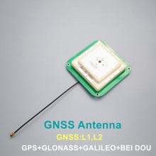 Topcnss высокоточная GNSS антенна для ZED-F9P модуль RTK беспилотная база UAV UGV GPS антенна GLONASS GALILEO GNSS L1, L2 AN506