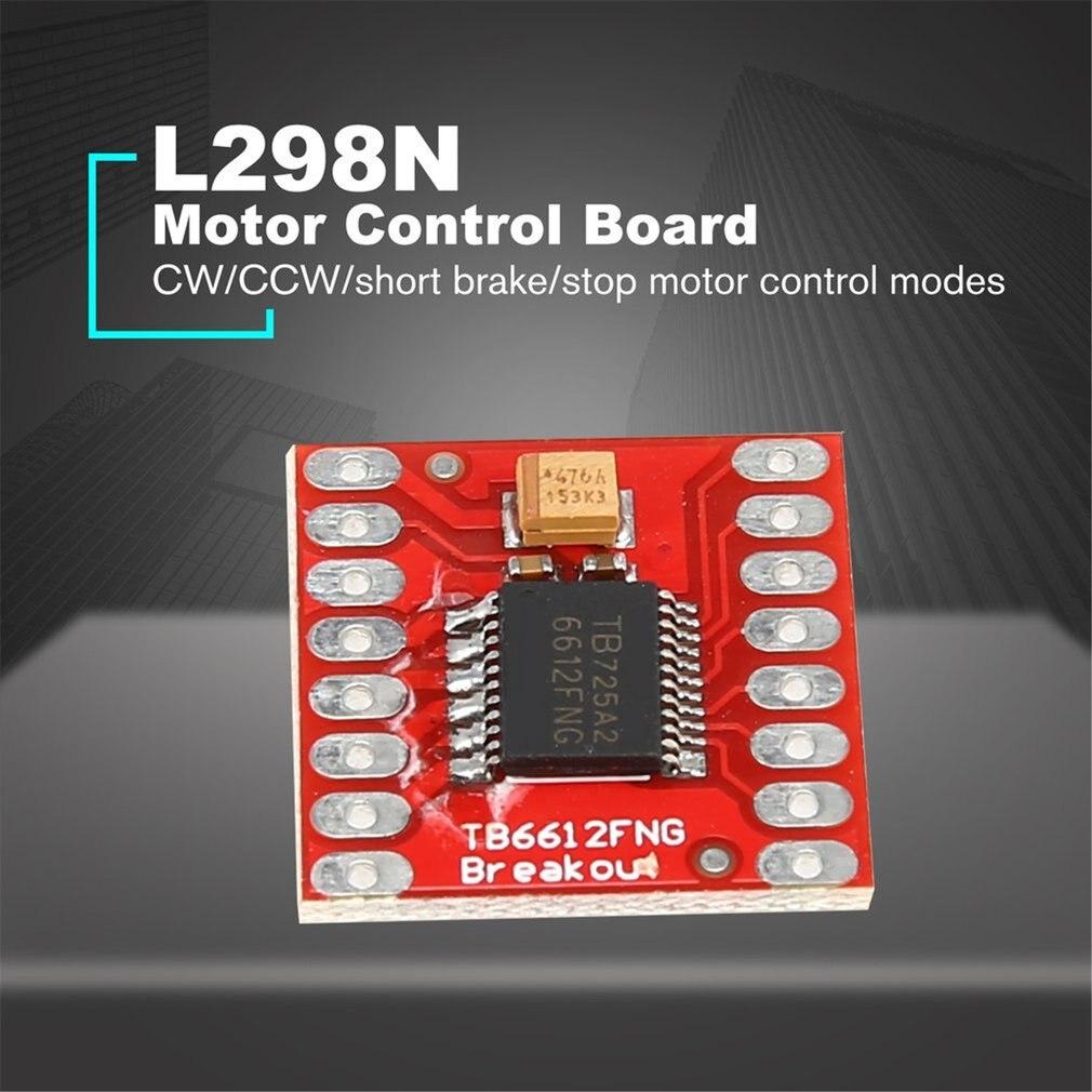 TB6612FNG / TCS3200Dual DC Motor paso a paso controlador expansión Placa de módulo de protección para Arduino microcontrol mejor que L298N