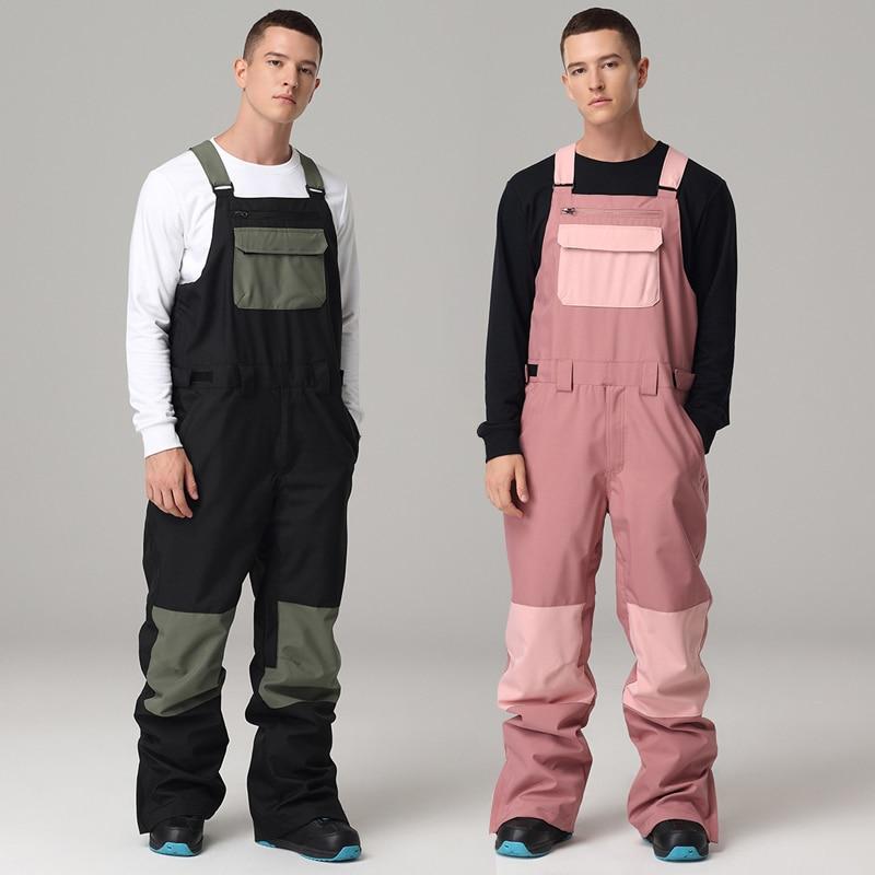 2021 спортивные мужские комбинезоны для снега уличные мужские лыжные комбинезоны водонепроницаемые мужские брюки с подогревом цельные подт...