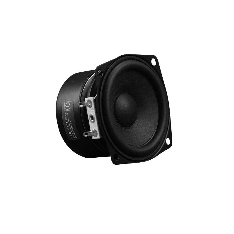 High Sensitivity 2.5 Inch Speaker Driver 10W Full Range HiFi Speaker Unit For Home Bookshelf Speaker 4ohm 8ohm