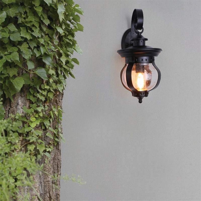 BROTHER Outdoor Retro Wall Light Classical Sconces Lamp Waterproof IP65 LED For Home Porch Villa enlarge