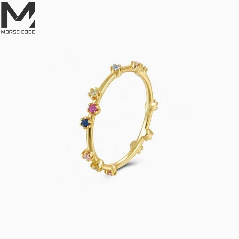 mc-925-Серебряные-кольца-в-Корейском-стиле-Стиль-Цвет-фиолетовый-blue-diamond-пара-кольцо-перста-модное-серебряное-кольцо-bague-Серебро-кольца