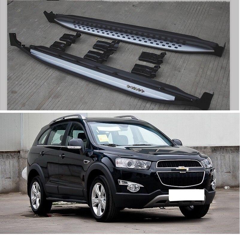 Nuevo, aluminio para Chevrolet Captiva 2019 2020, tablero para correr, barra de paso lateral, buena calidad