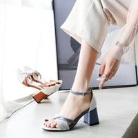 summer shoes for women heel shoe 5cm wedge sandals for beach elegant woman sandals ladies high heel shoes 34 35 36 37 38 39 40