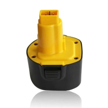 9.6V 2Ah 3Ah DE9062 NICD cordless power tool battery for Dewalt DE9036,DE9061,DE9062,DW9061,DW9062