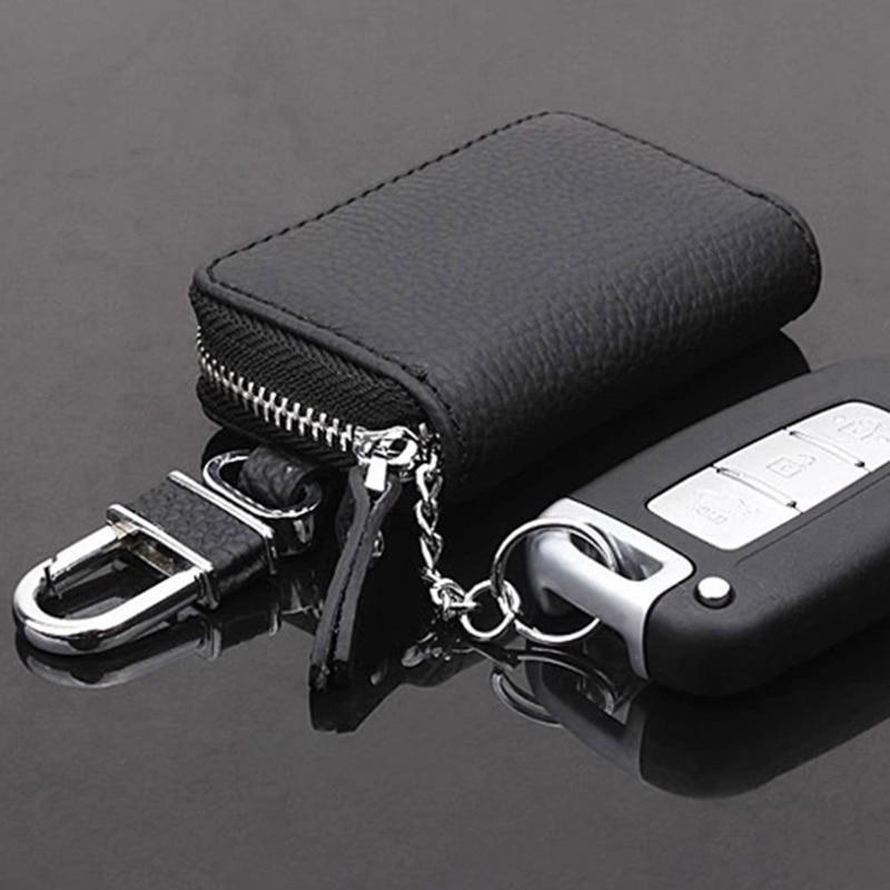 Чехол для автомобильных ключей из искусственной кожи, мужские кошельки, органайзер для автомобильных ключей, Женский держатель для ключей, ...