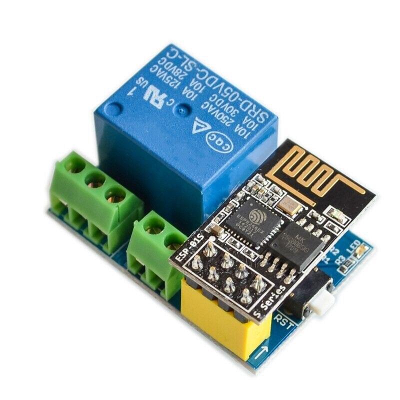 Esp8266 ESP-01S 5 v módulo de relé, wi-fi, diy, interruptor de controle remoto de casa inteligente para arduino, telefone app esp01s sem fio wi-fi módulo do módulo