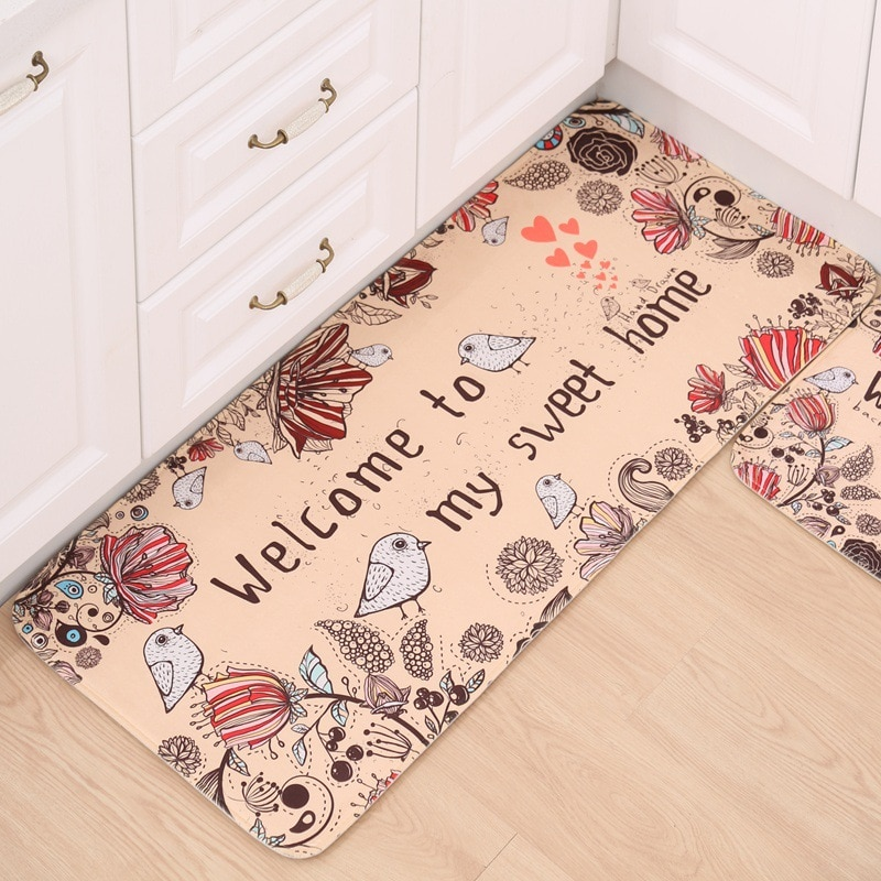 Cartoon Thickened Absorbent Non-slip  Living Room Bedroom Carpet Bathroom Mats and Rugs Kitchen Mat Bathroom Accessories